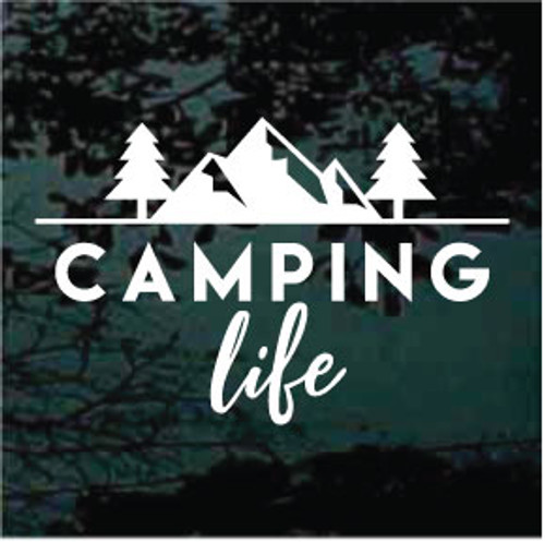 Camping Life Scene