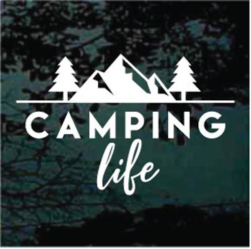 Camping Life Scene Decals