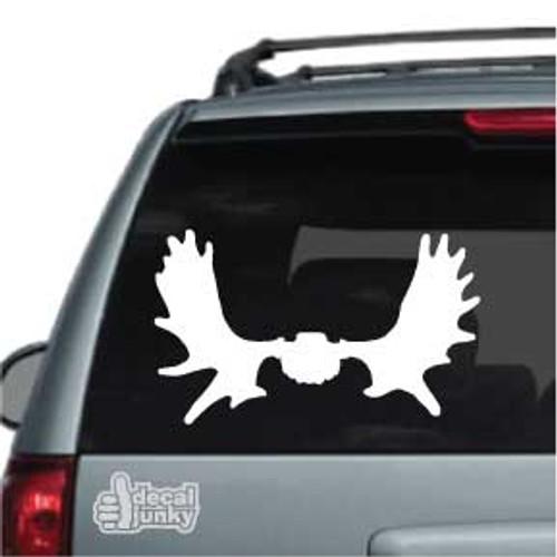 Moose Skull Mount Stickers