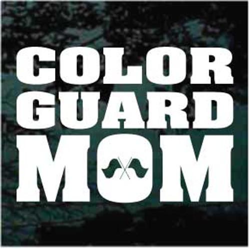 Color Guard Mom Decals