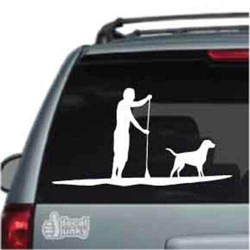 Man Paddleboarding Car Decals