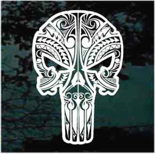 Skull decal for cars, trucks, windows, & more