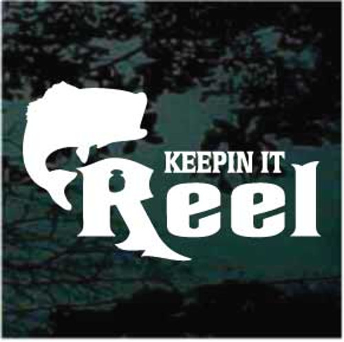 Keeping it reel bass fishing decals