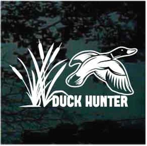 Duck Hunter Duck Flying Decals