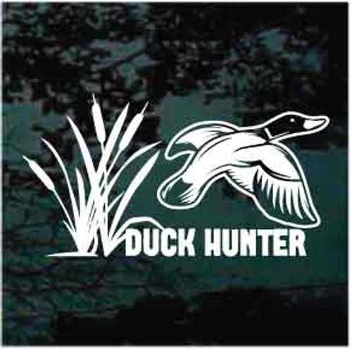 Duck Hunter Duck Flying Decals