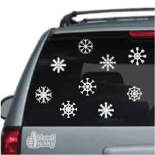 Snowflakes Set Of 9
