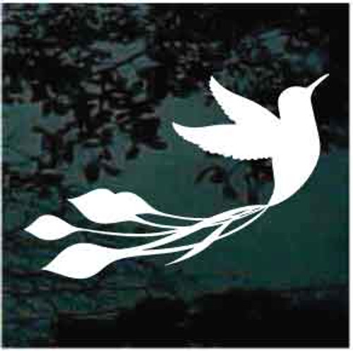 Colibri Hummingbird Window Decal