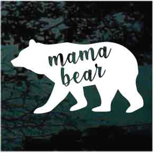 Mama Bear Window Decal