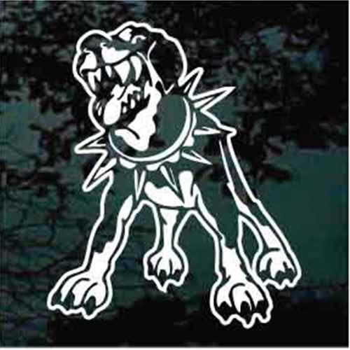 Mean Rottweiler Window Decal