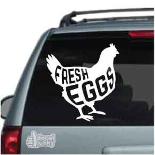 Fresh Eggs Chicken
