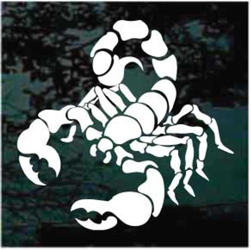 Cool Scorpion Window Decal