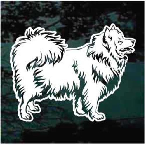 Pretty Japanese Spitz Decals