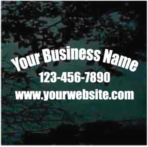 Advertise Your Business With Web Address Decals