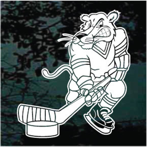 Panthers Hockey Mascot 01