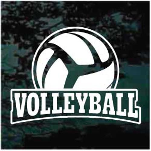 Volleyball Banner Decals