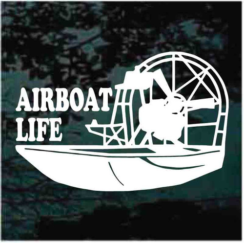 Airboat Life Decals