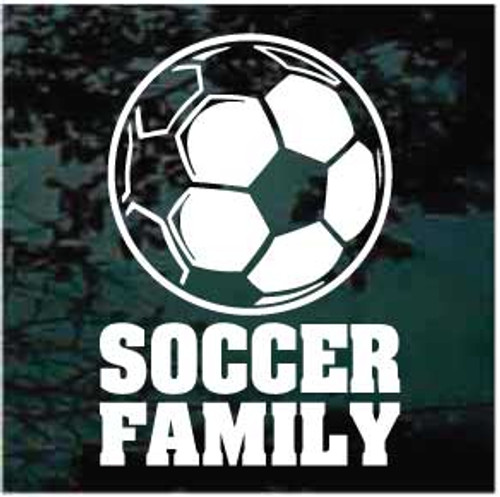 Soccer Ball Soccer Family Decals