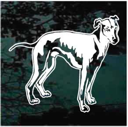 Whippet Stance Window Decals