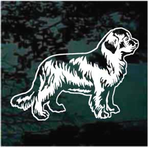 Beautiful Newfoundland Dog Decals