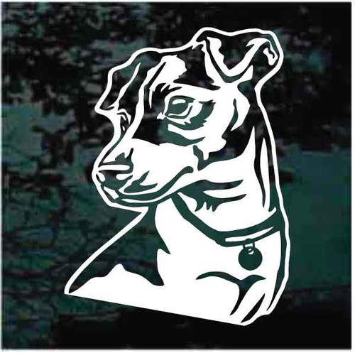 Handsome Jack Russell Terrier Decals