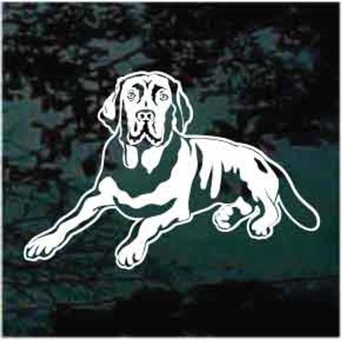 Labrador Retriever Down Decals