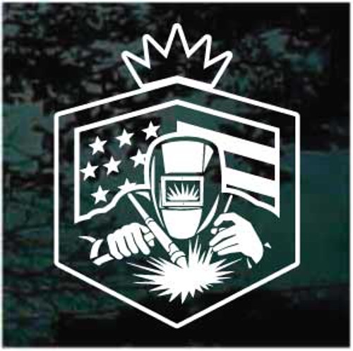 American Welder Decals