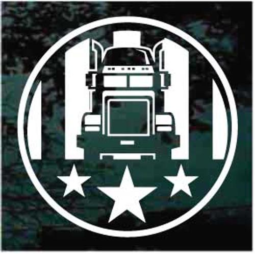 American Trucker Decals