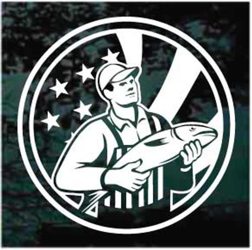 American Fisherman Window Decals
