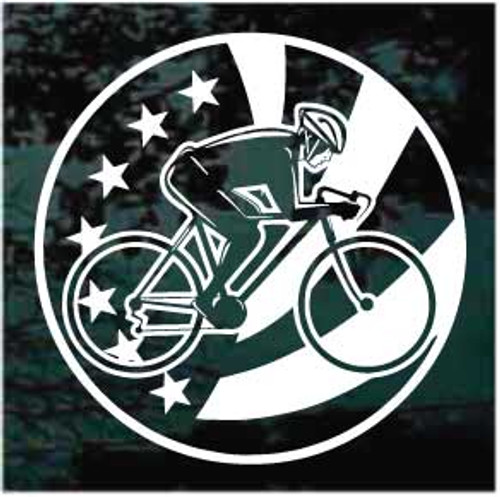 American Cycler Window Decals