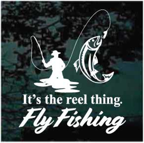 Reel Thing Fly Fishing Decals