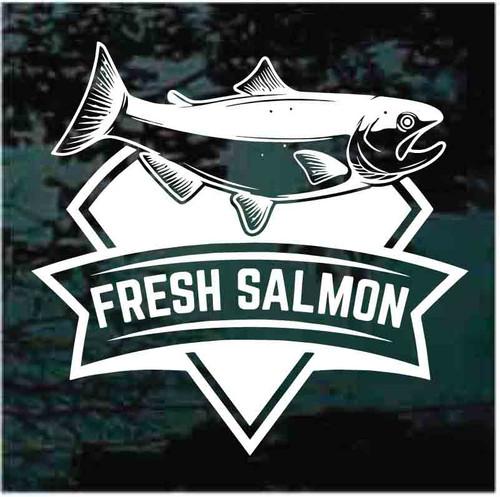 Fresh Salmon Banner Decals