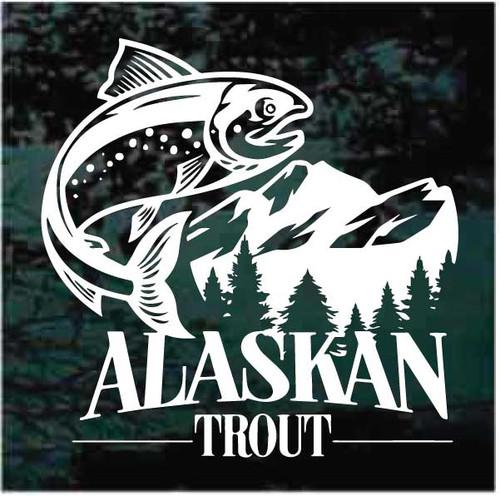 Alaskan Trout Decals