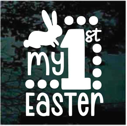 My First Easter Window Decals