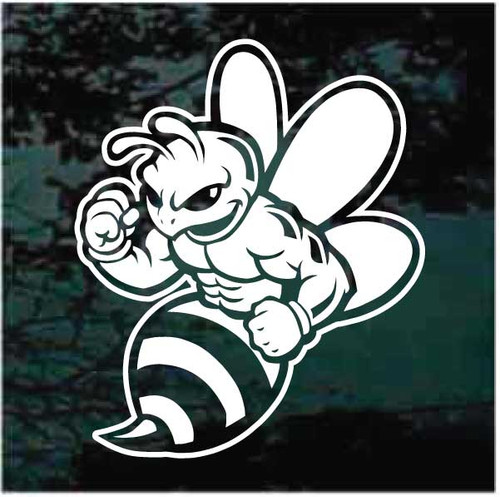 Muscle Bee Decals