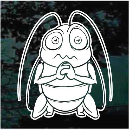 Cockroach Cartoon Decals