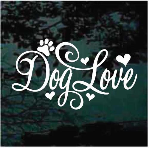 Dog Love Decals