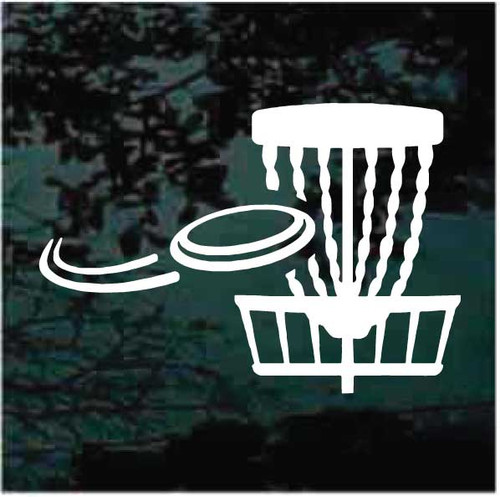 Disc & Disc Golf Basket Decals