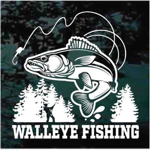 Walleye Fishing Decals