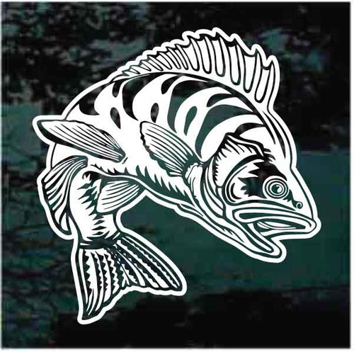 Perch Jumping Decals