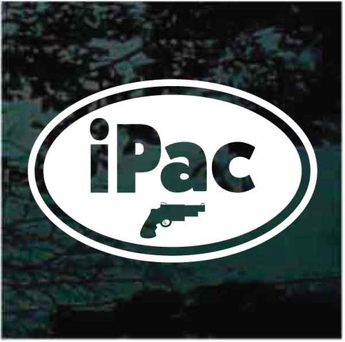 iPac Oval Decals