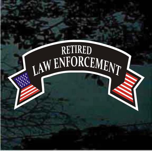 Retired Law Enforcement decals