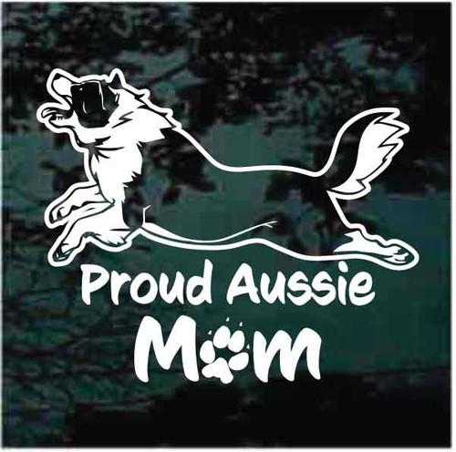 Proud Aussie Mom Decals