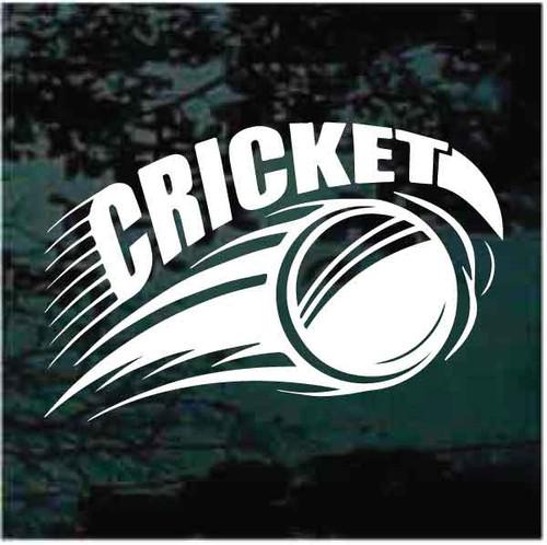 Cricket Ball Graphic Decals