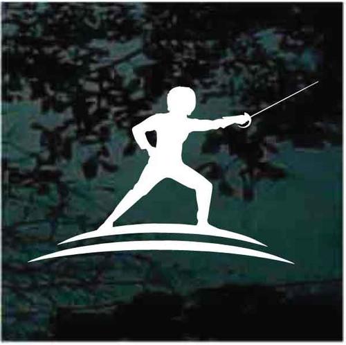 Fencing Logo Decals