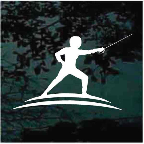 Fencing Logo Decals