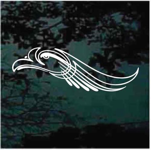 Eagle Head Pinstripe Decals