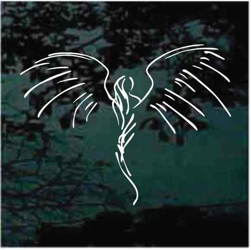 Angel Pinstripe Decals