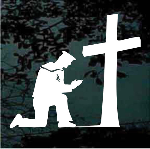 Sailor Kneeling at the Cross