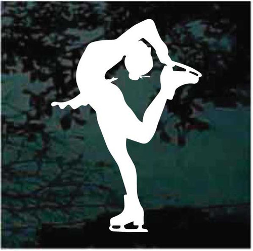 Figure Skating Pose Decals
