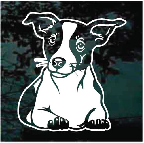 Jack Russell Terrier Down Decals